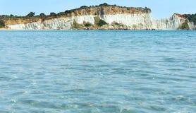 View from Gerakas beach (Zakynthos, Greece) Royalty Free Stock Images