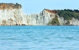 View from Gerakas beach (Zakynthos, Greece) Royalty Free Stock Photography