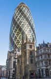 View of Gherkin Stock Photos