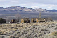 View from the ghost town of Berlin, Nevada Royalty Free Stock Photos