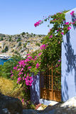 View from Gialos, Greece Stock Photos