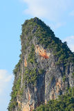 Giant rock in Ao Phang Nga national park, Phuket - Thailand Stock Photos