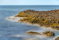 View of the Giant's Causeway, a UNESCO heritage site in Northern Royalty Free Stock Photography