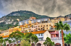View of Gibraltar City Royalty Free Stock Photography