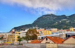 View of Gibraltar City Royalty Free Stock Photo