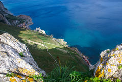 View of the Gibraltar rock Royalty Free Stock Image