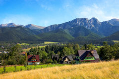 View of Giewont Royalty Free Stock Image