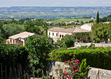The View from Gigondas Royalty Free Stock Images