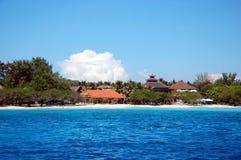 Gili Trawangan. View on Gili Trawangan Island, Indonesia Stock Image