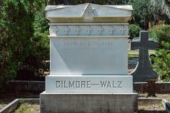 Gilmore Walz Cemetery Statuary Statue Bonaventure Cemetery Savannah Georgia royalty free stock images