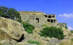 A view of Gingee Fort Royalty Free Stock Photography