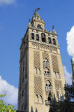 Giralda Tower of  the Cathedral of Seville, Seville, Spain Royalty Free Stock Photography
