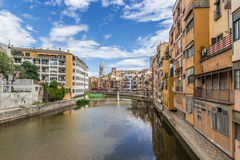 View of Girona Royalty Free Stock Photo