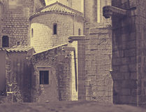 View of Girona - Sant Pere de Galligants Royalty Free Stock Image