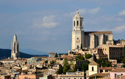 View of Girona, Spain Royalty Free Stock Photography