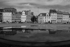 VIEW OF GL.STRAND_DANISH CAPITAL COPENHAGEN Royalty Free Stock Images