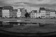 VIEW OF GL.STRAND_DANISH CAPITAL COPENHAGEN Royalty Free Stock Images