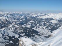 View from Glacier de Diablerets Stock Photo