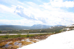 View from glacier in Norway Royalty Free Stock Image