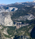 View from Glacier Point Royalty Free Stock Images