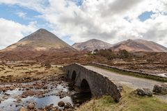 A view of Glamaig Royalty Free Stock Photos