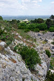 View of Glanum Royalty Free Stock Images