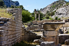 View of Glanum Royalty Free Stock Image