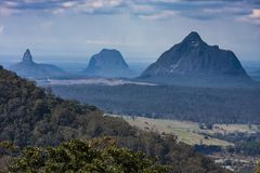 Glasshouse Mountain View stock images