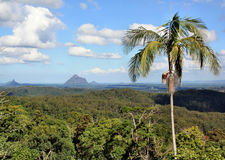 View on Glass House Mountains Stock Images