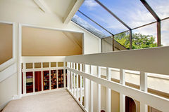 View of glass wall from loft Stock Image
