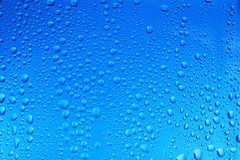 View of glass with water drops,. Closeup royalty free stock photography