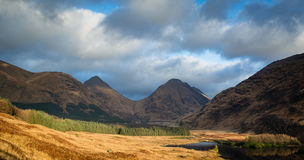 View from glen etive Royalty Free Stock Images