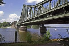 glienicke bridge 2006 2 Royalty Free Stock Photography