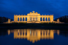 View on Gloriette structure in Schonbrunn Palace, Vienna, Austria Stock Photography