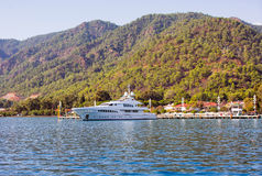 View of Gocek marina Royalty Free Stock Images