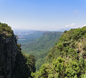 View from God`s Window along the Blyde River Canyon, South Africa Stock Photo