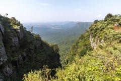 View at God`s window, blyde river canyon at morning Stock Photo