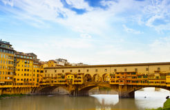 View of Gold  Bridge Royalty Free Stock Photos