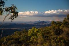 View Gold Coast Hinterland royalty free stock photos