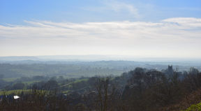 View from gold hill Stock Photography