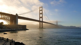 View of the Golden Gate Bride in San Francisco California Stock Images