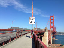 View from the Golden Gate Bridge. San Francisco Royalty Free Stock Photos