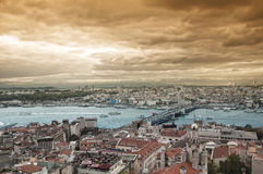 View of Golden Horn. Istanbul Stock Images