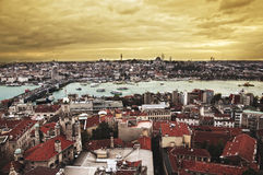View of Golden Horn. Istanbul Royalty Free Stock Images