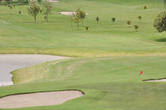 View of golf field Royalty Free Stock Photography