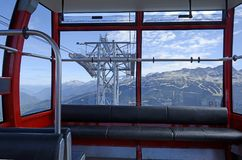 View from the Gondola Royalty Free Stock Photo