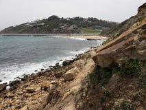 View good luck. Merkala beach in tangier city 2 Royalty Free Stock Image