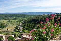 View from Gordes Stock Photo