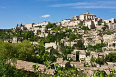 View of Gordes Stock Images