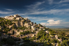 View of Gordes Stock Photography